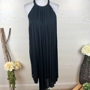 {NEW} DKNY Strappy Back Black Dress